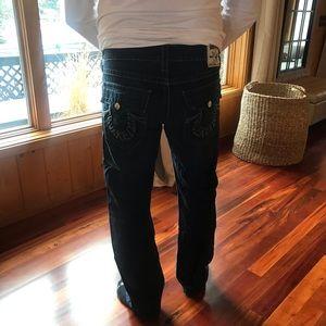 True Religion Dark Wash Jeans